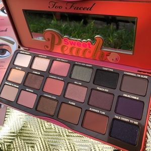 🍑NIB🍑Too Faced Sweet Peach Eyeshadow Palette